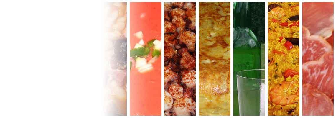 Ir dar daug kitų produktų Ispanijos virtuvės