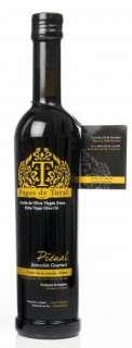 1.Aukščiausios kokybės pirmojo spaudimo alyvuogių aliejus Pagos de Toral