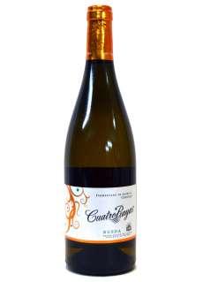 Baltas vynas Cuatro Rayas Fermentado Barrica