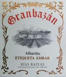 Baltas vynas Granbazan Etiqueta Ambar