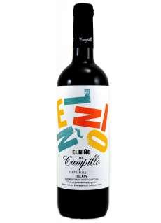 Raudonas vynas El Niño de Campillo