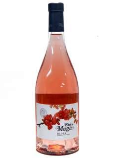 Raudonas vynas Flor de Muga Rosado