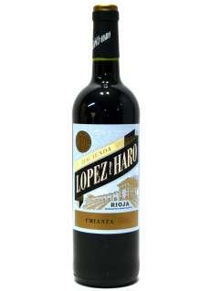 Raudonas vynas Hacienda López de Haro