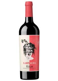 Raudonas vynas La Maldita Garnacha