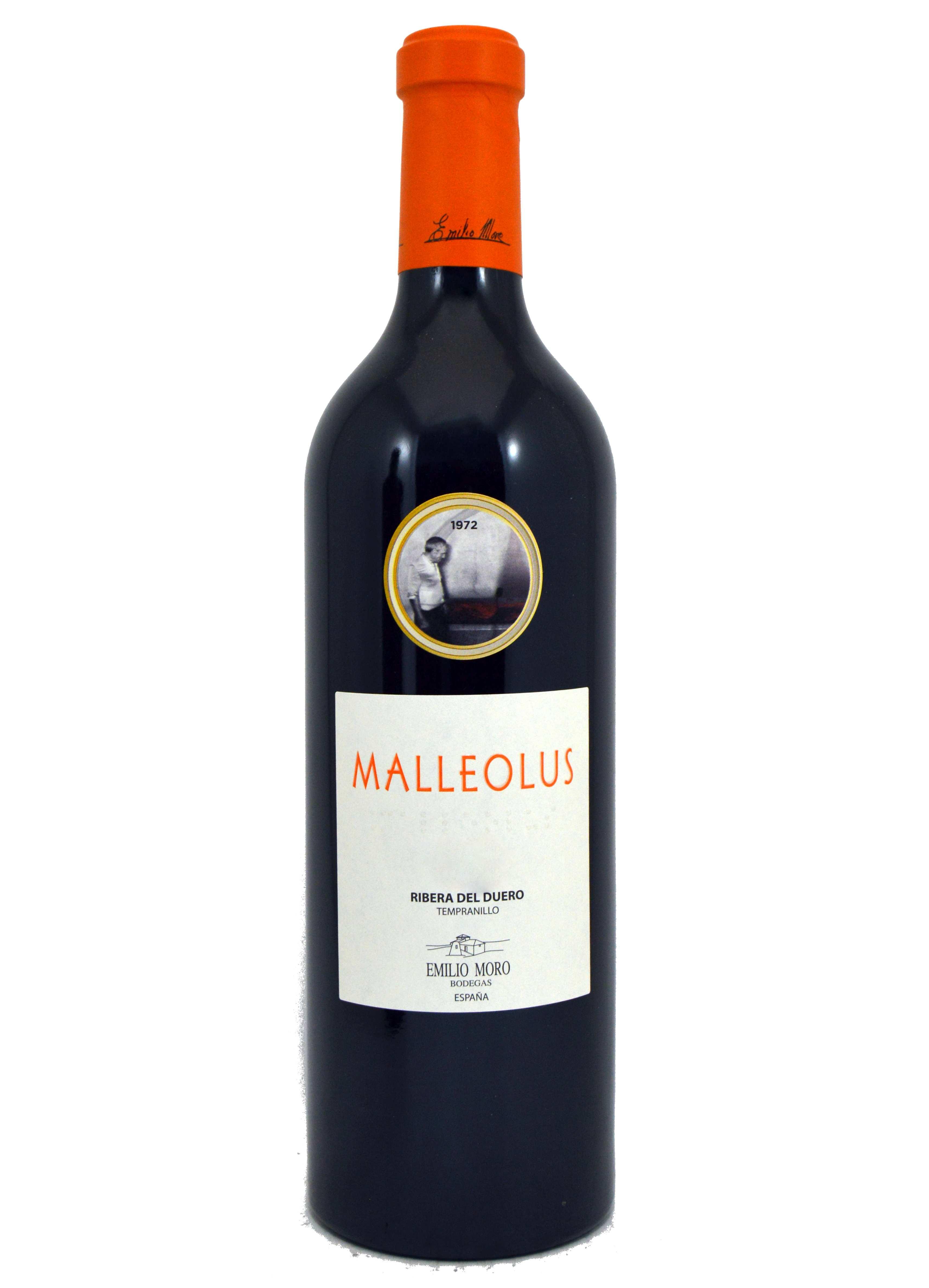 Raudonas vynas Malleolus