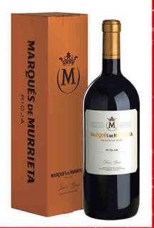 Raudonas vynas Marqués de Murrieta  en caja de cartón (Magnum)