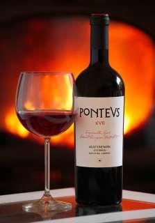 Raudonas vynas PONTEVS