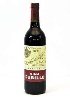 Raudonas vynas Viña Cubillo