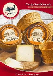 Sūris La Antigua Queseria, Semicurado